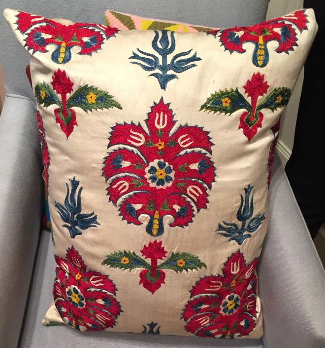 Silk Suzani Cushion Pentreath Hall 660 wide