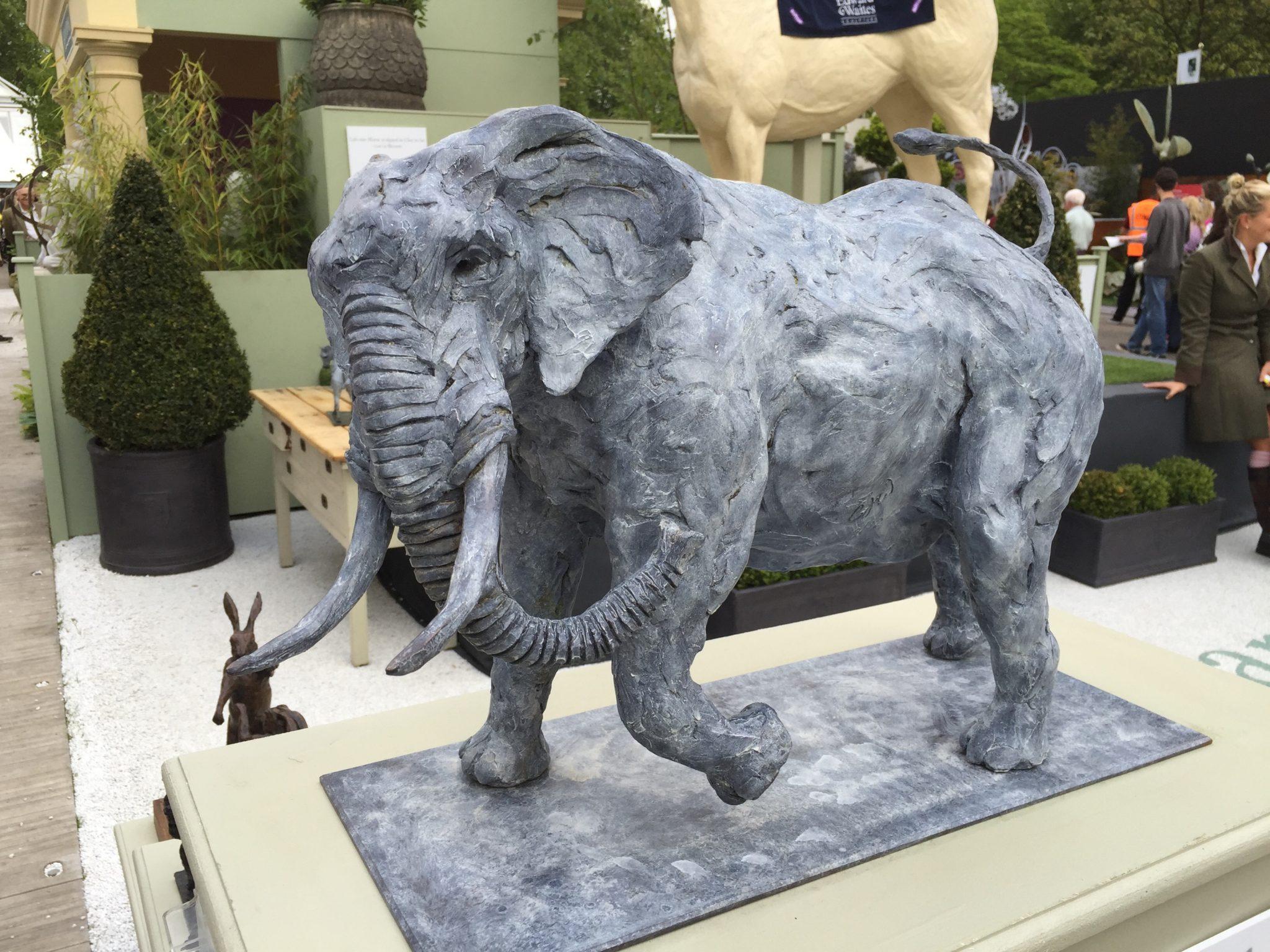 Elephant Sculpture Chelsea Flower show
