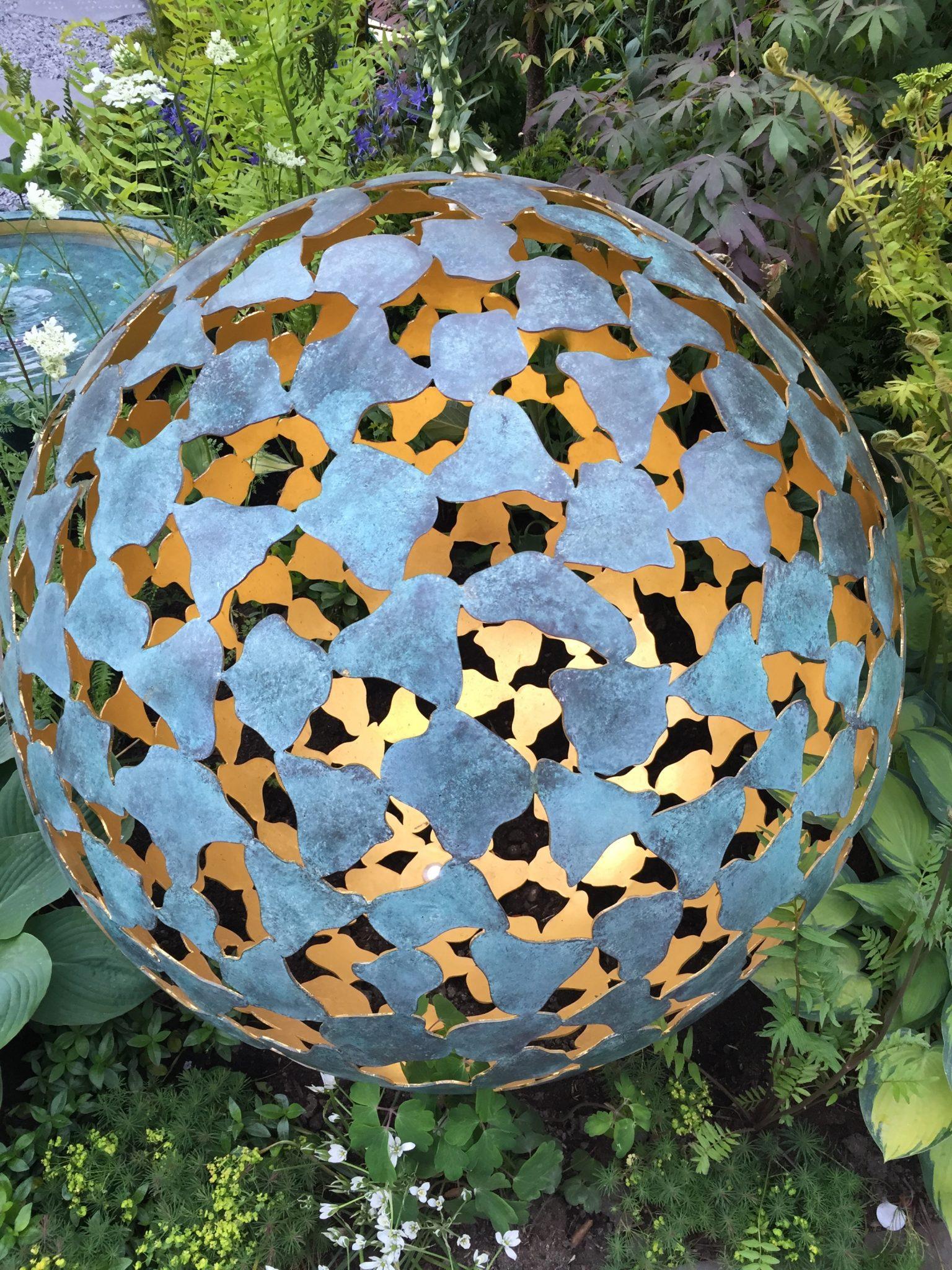 Light Sculpture Chelsea Flower Show