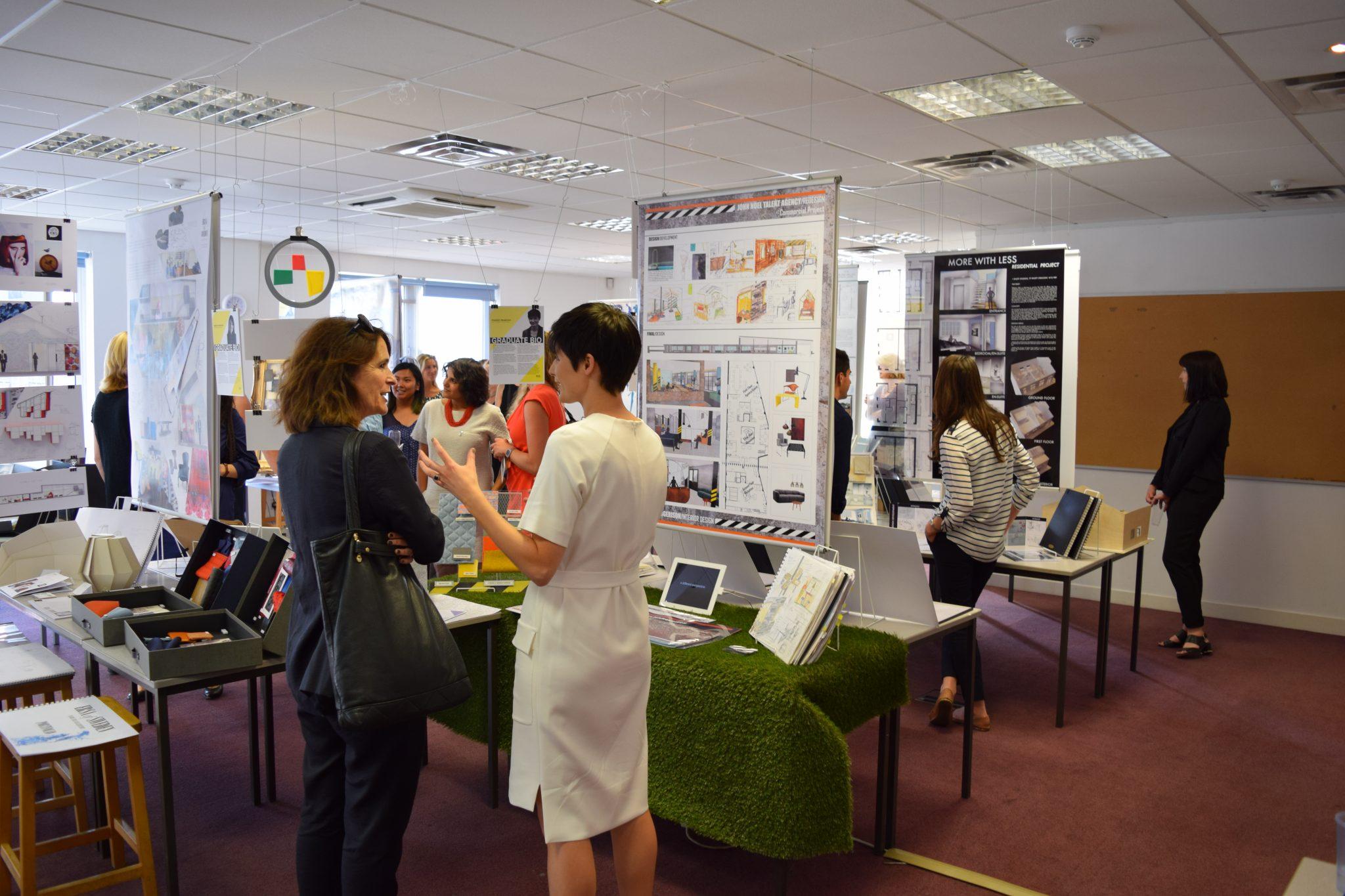 KLC School of Design Graduate Exhibition Private View 2015