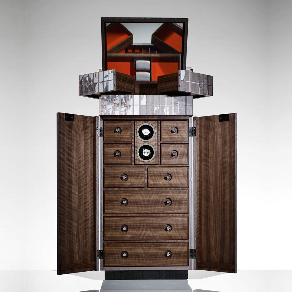 Lightscape Sunrise - The Gentlemans Vanity Cabinet Open2