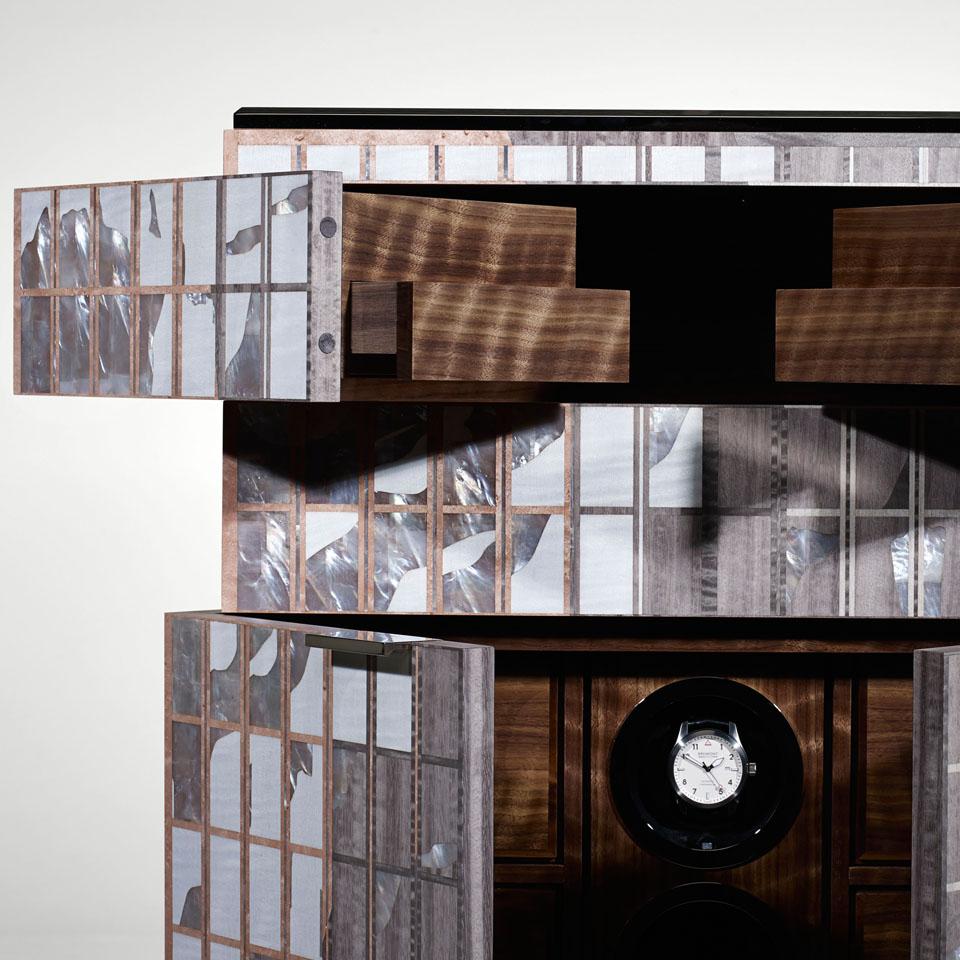 Lightscape Sunrise - The Gentlemans Vanity Cabinet Opentop