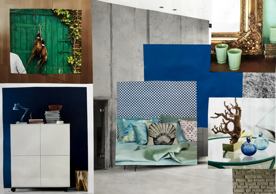 moodboard advanced colour workshop klc school of design
