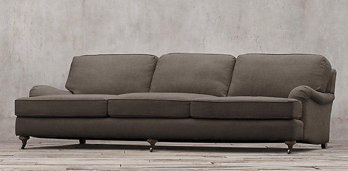 Rolled Arm Sofa Interior Style Hunter