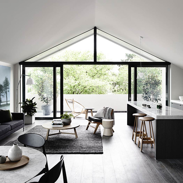 open plan living thedesignchasercom