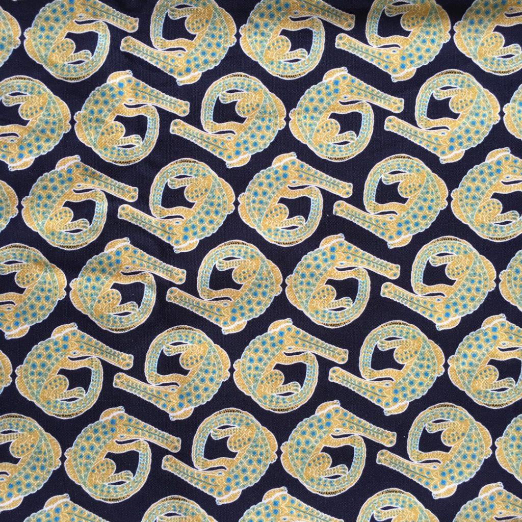 Crocodile Limelight fabric
