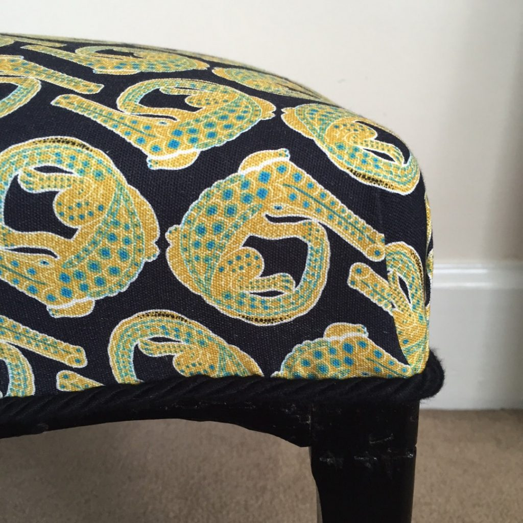 halsted footstool project