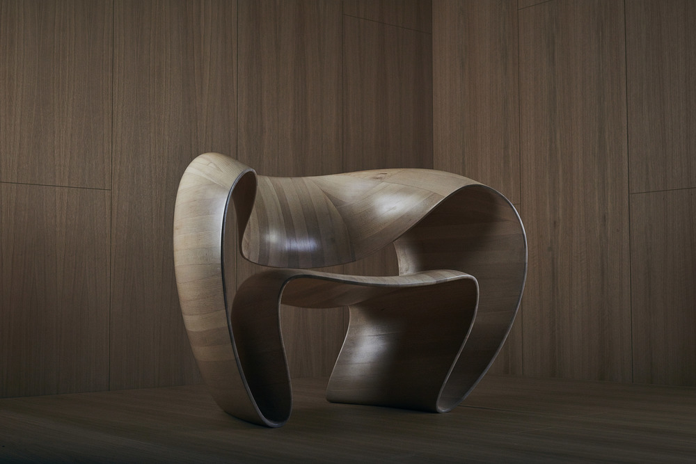 ribbon chair object studio