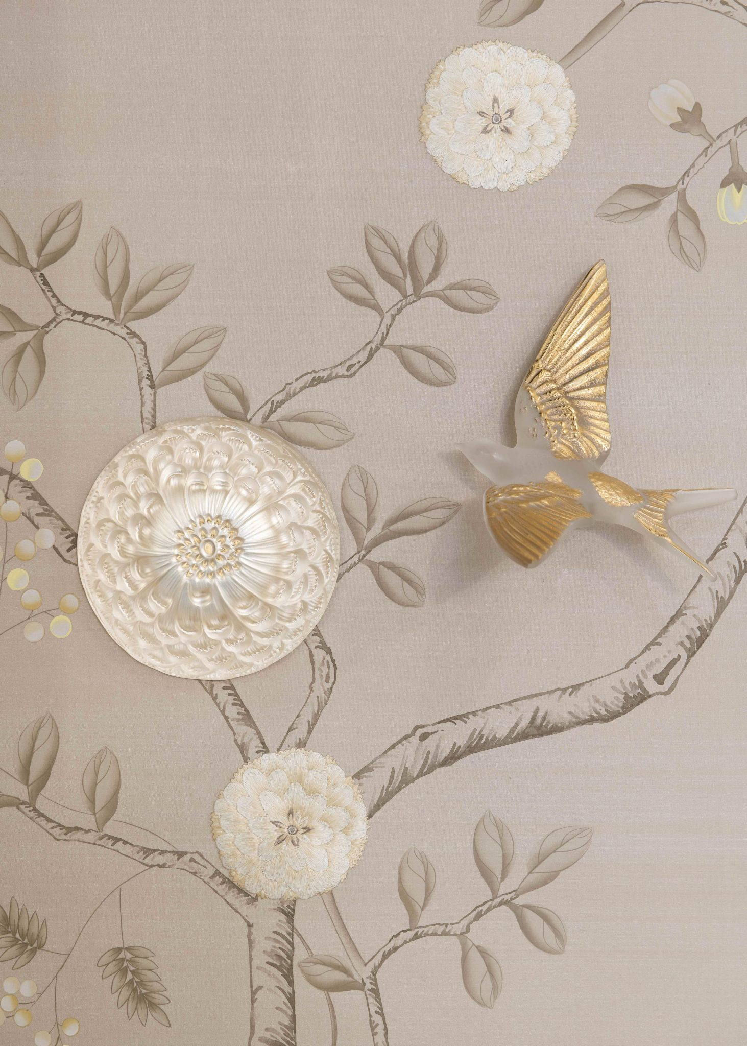 Lalique And Fromental Collaborate On Hirondelles